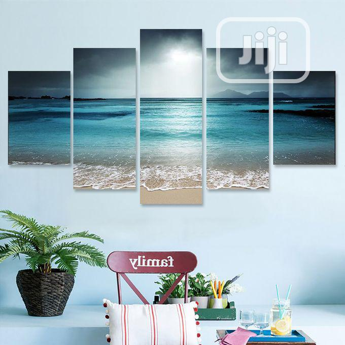 Archive: 5pcs Sun Seaside Art Canvas Painting Picture Print Home Wall
