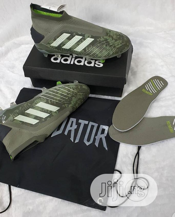 High Quality Adidas Predictor 19+ Fg Boot | Shoes for sale in Surulere, Lagos State, Nigeria