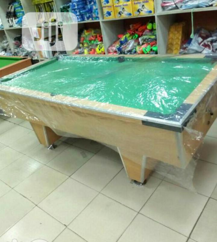 Green Local Snooker Table