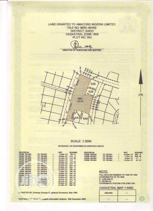 A Strategically Located Commercial Unspecified Plot For Sale   Land & Plots For Sale for sale in Abuja (FCT) State, Kado