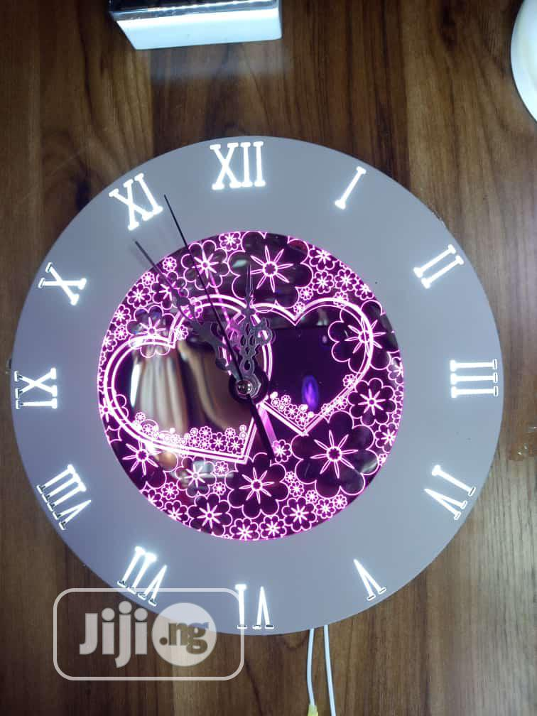 LED Light Clock   Home Accessories for sale in Ojo, Lagos State, Nigeria