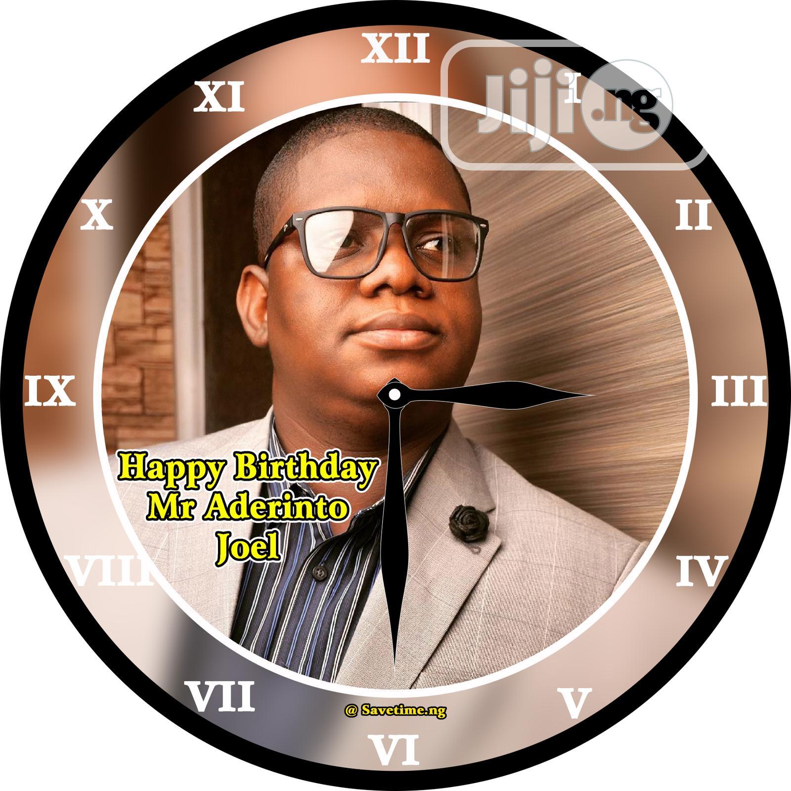 Customized Clock | Home Accessories for sale in Ifako-Ijaiye, Lagos State, Nigeria