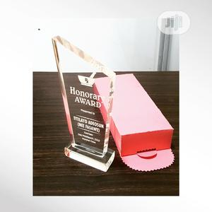 Award Plaque Crystal, Acrylic And Wooden Concepts | Arts & Crafts for sale in Lagos State, Yaba