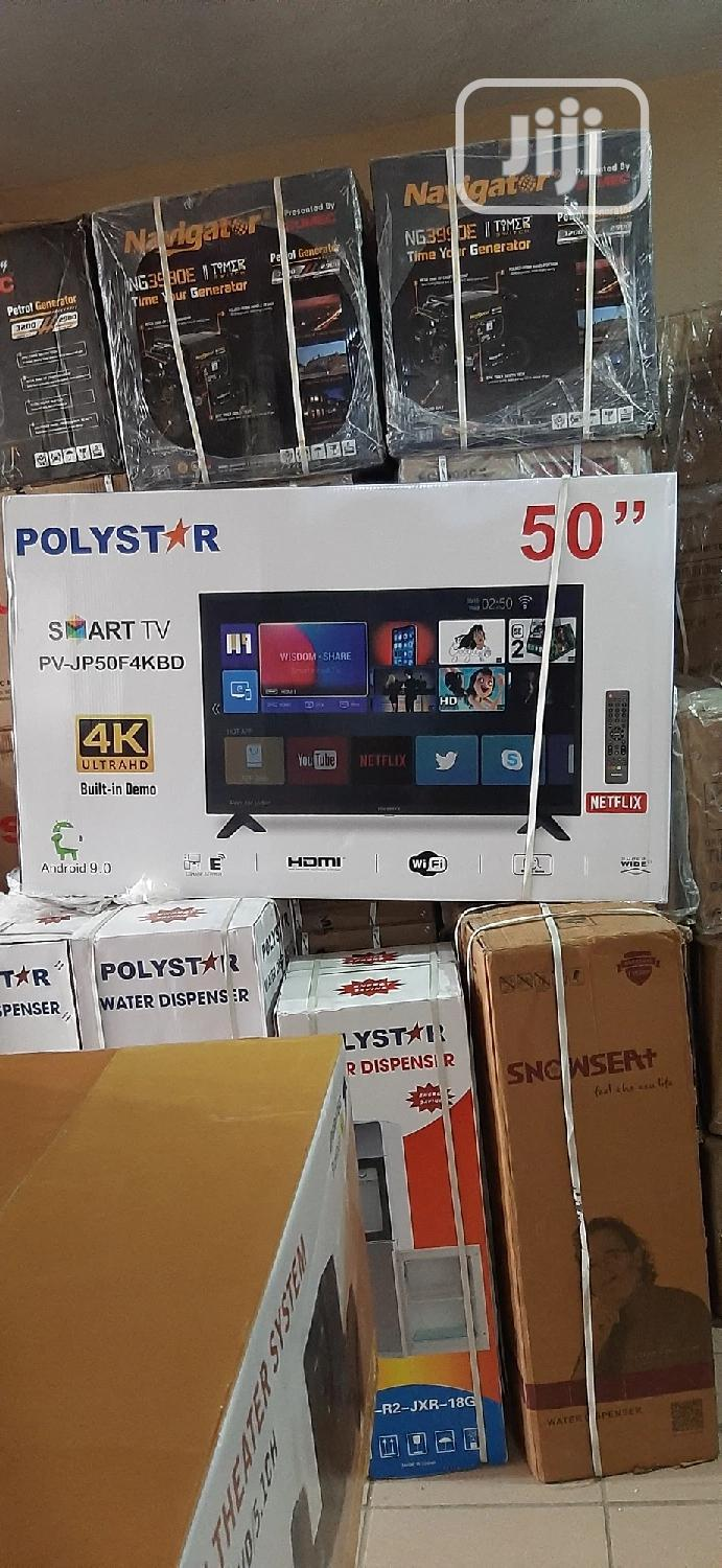 POLYESTAR Smart TV 50inches | TV & DVD Equipment for sale in Central Business Dis, Abuja (FCT) State, Nigeria