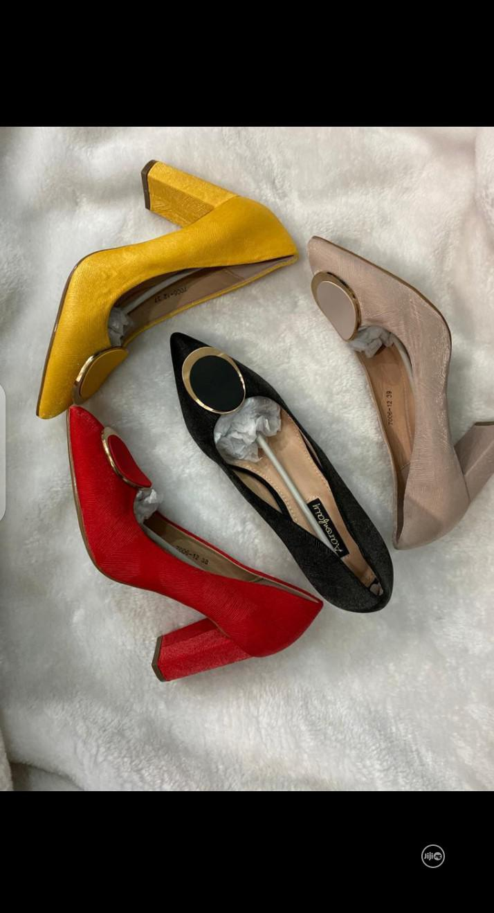New Quality Female Pump Heeel Cover Shoes