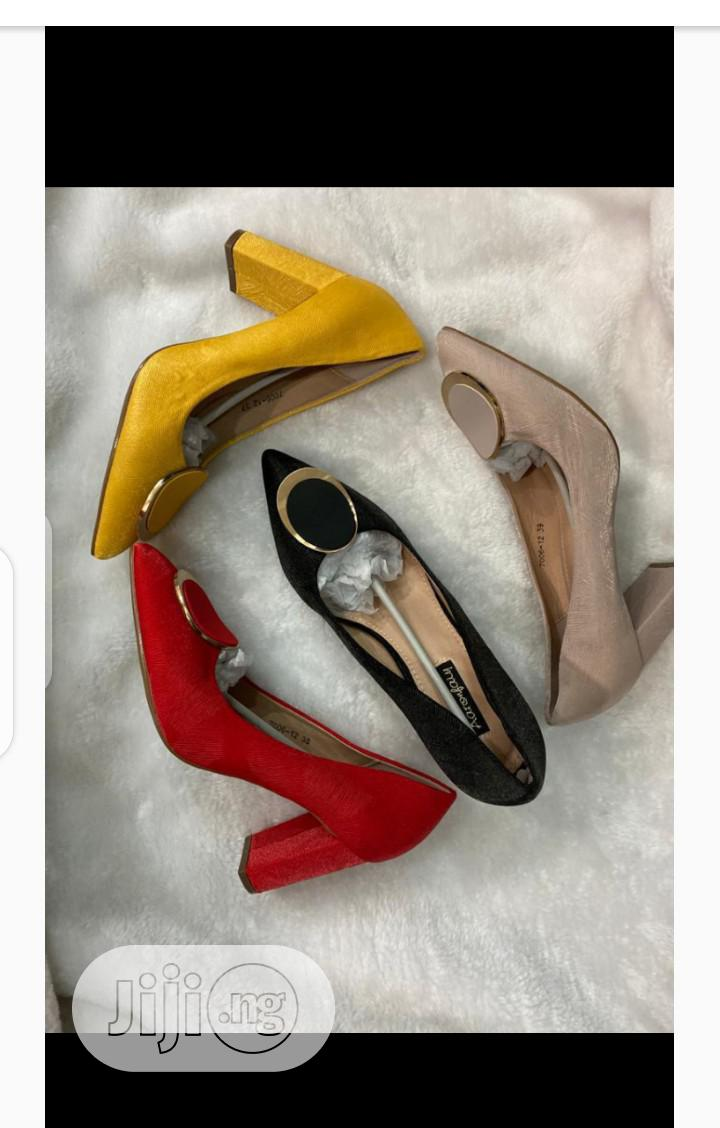 New Quality Female Pump Heeel Cover Shoes | Shoes for sale in Lagos Island, Lagos State, Nigeria