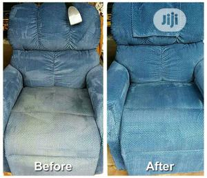 Before And After Upholstery Cleaning Service | Cleaning Services for sale in Lagos State, Gbagada