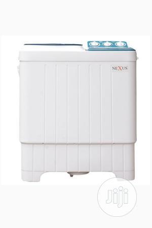 Nexus 7kg Semi Automatic Washing Machine NX-WM-7SABI | Home Appliances for sale in Abuja (FCT) State, Dutse-Alhaji