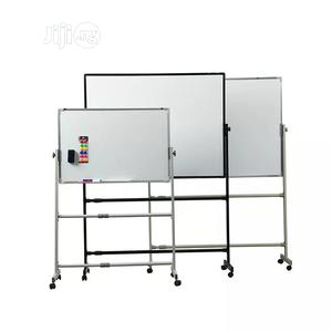 Teaching Double Sided White Magnetic Board On Movable Stand | Stationery for sale in Abuja (FCT) State, Wuse
