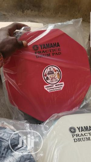 Original Yamaha Practice Drum Pad For Learners | Musical Instruments & Gear for sale in Lagos State, Mushin