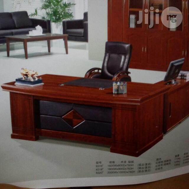 1.6m Office Table With Extension