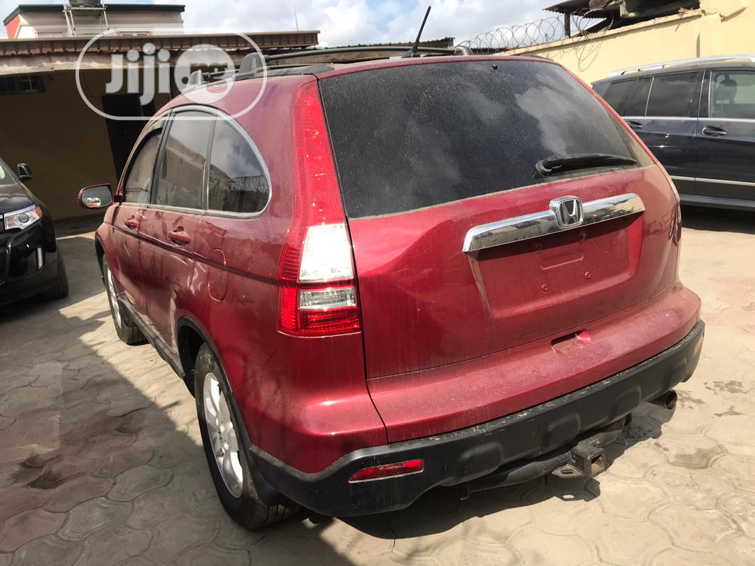 Honda CR-V 2007 Red | Cars for sale in Surulere, Lagos State, Nigeria