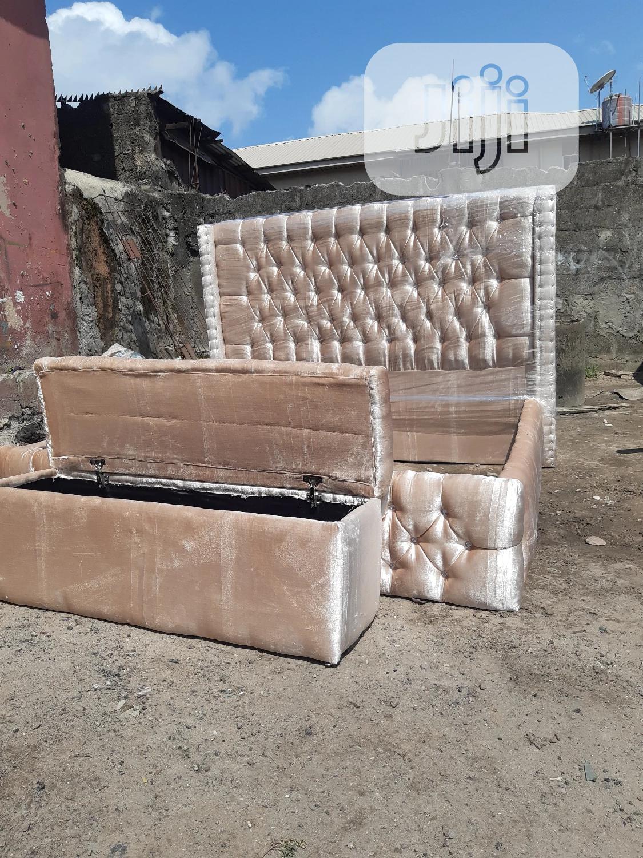 6x6 Upholstery Bedframe