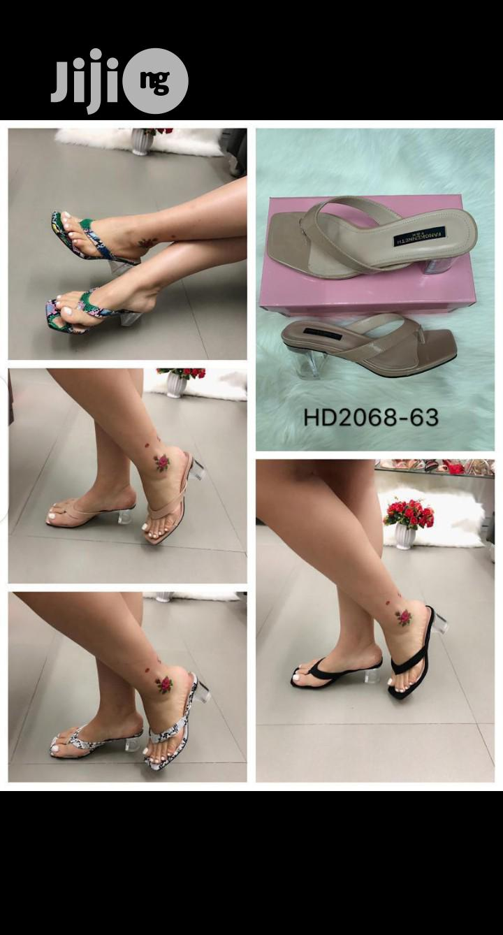New Quality Female Laether Slippers