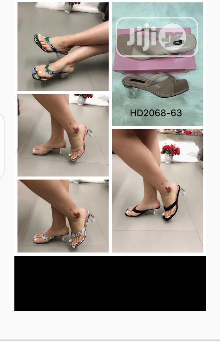 New Quality Female Laether Slippers | Shoes for sale in Lagos Island, Lagos State, Nigeria