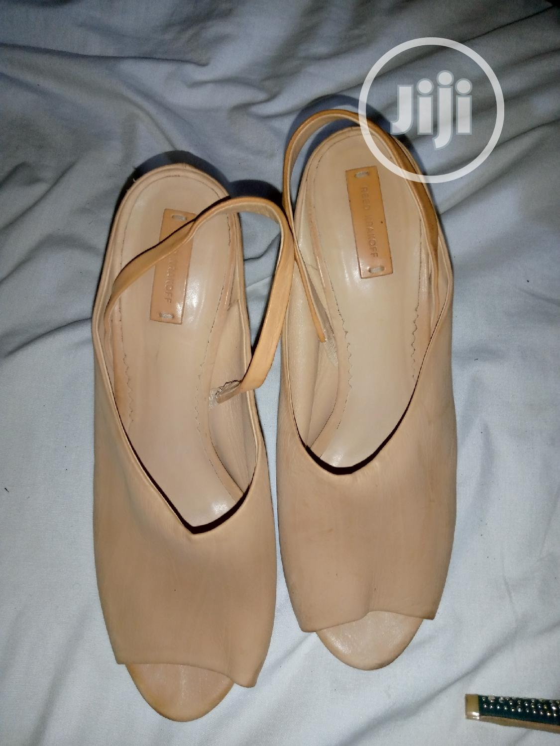 Brown Leather Shoes   Shoes for sale in Jahi, Abuja (FCT) State, Nigeria