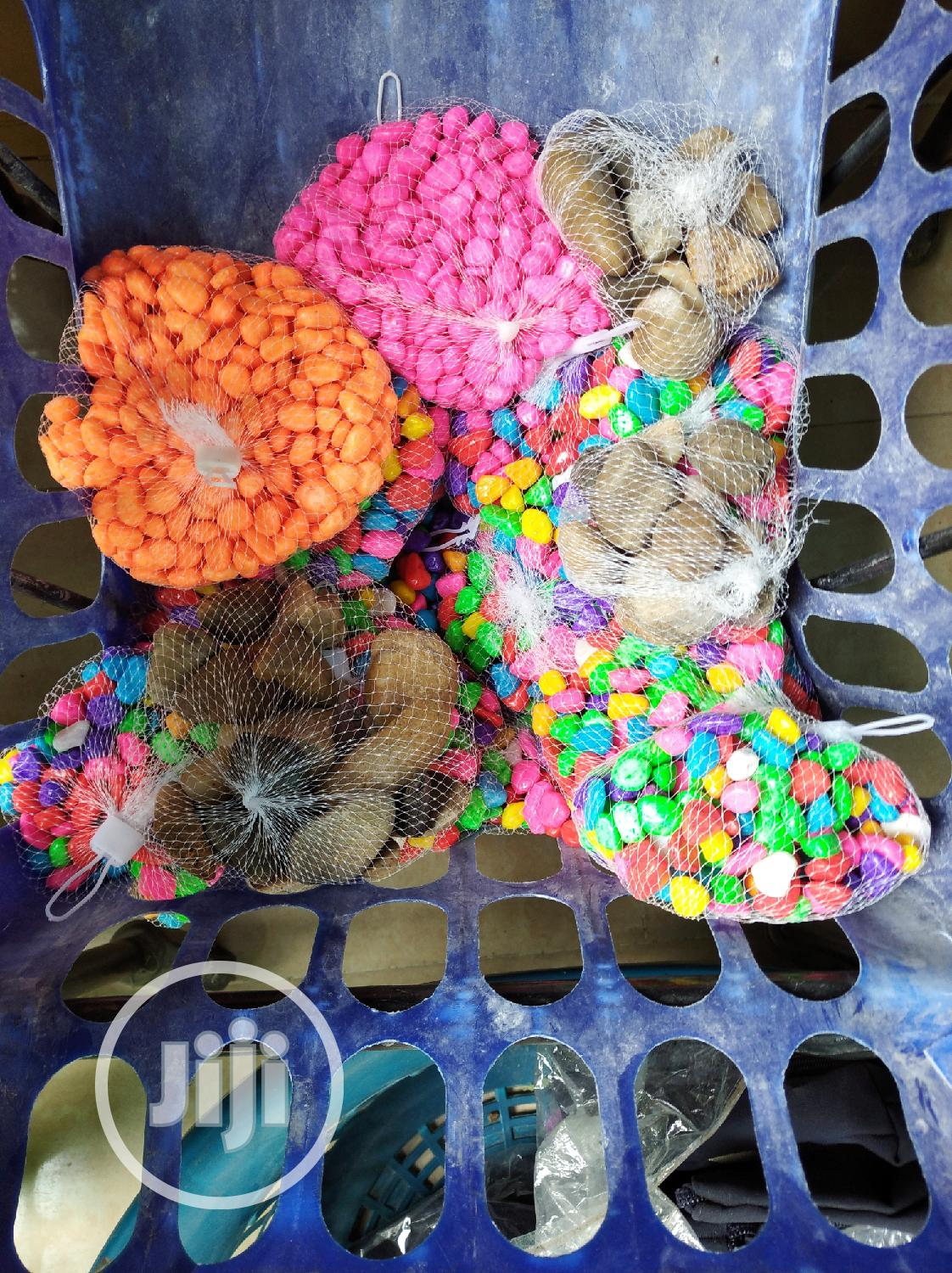 Colourful Pebbles For Decorations
