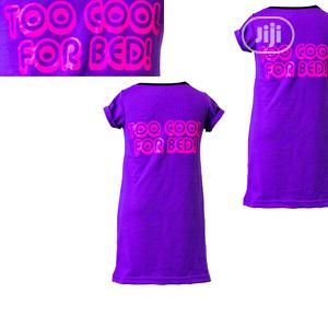 Purple Sleep Wear_too Cool for Bed Pints | Children's Clothing for sale in Lagos State, Surulere