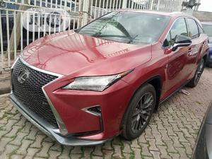 Lexus RX 2018 350 F Sport AWD Red | Cars for sale in Lagos State, Ikeja