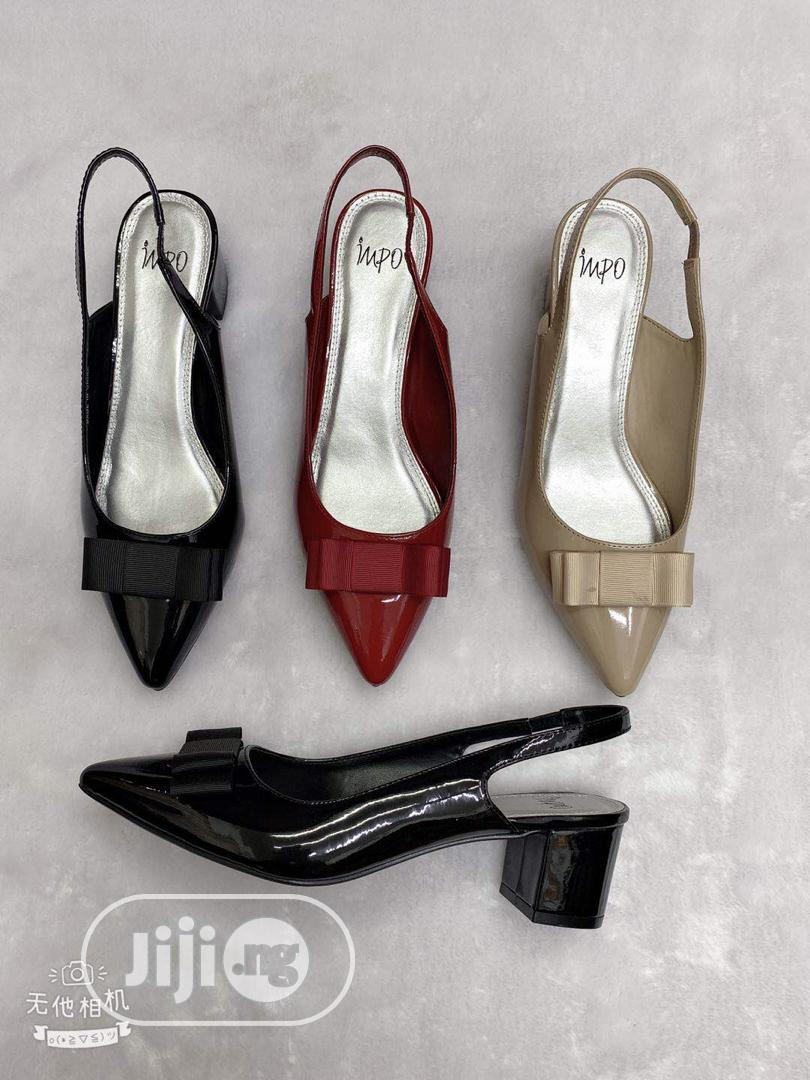 New Quality Female Leather Block Heel Shoes | Shoes for sale in Lagos Island, Lagos State, Nigeria