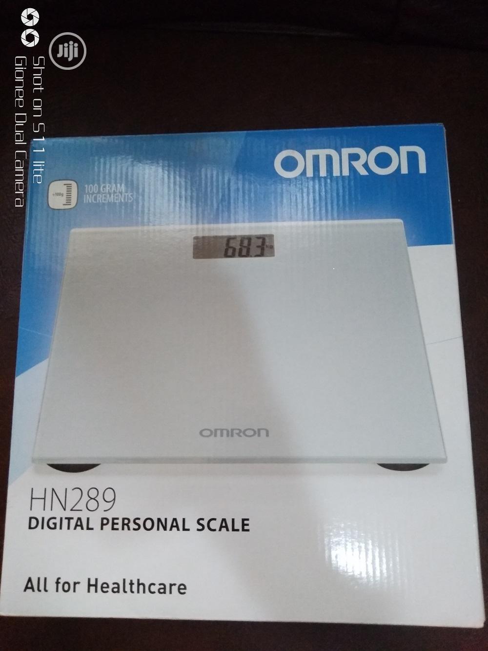 HN289 Personal Digital Scale Silver
