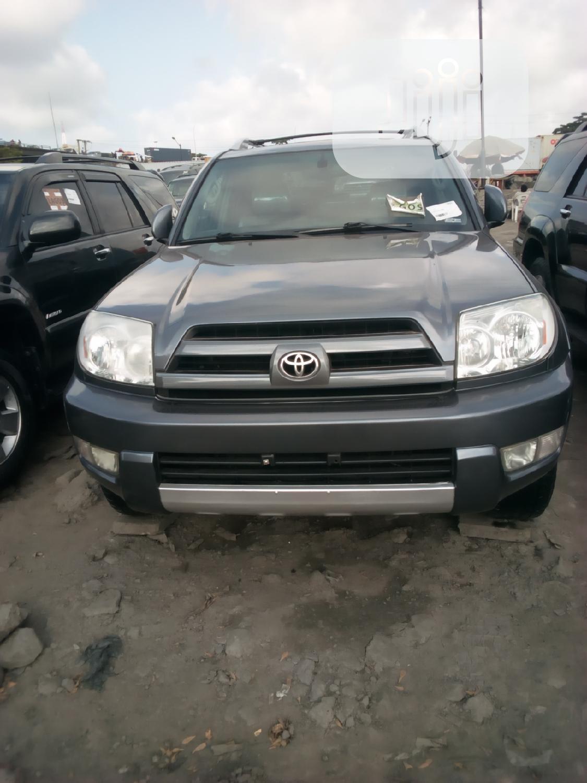 Toyota 4-Runner 2004 Limited Gray