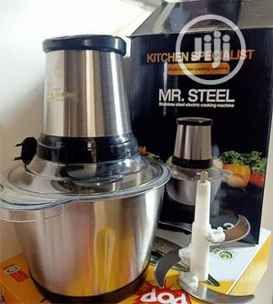 3 Ltrs Mr Steel Yam Pounder | Kitchen Appliances for sale in Lagos State, Ikeja