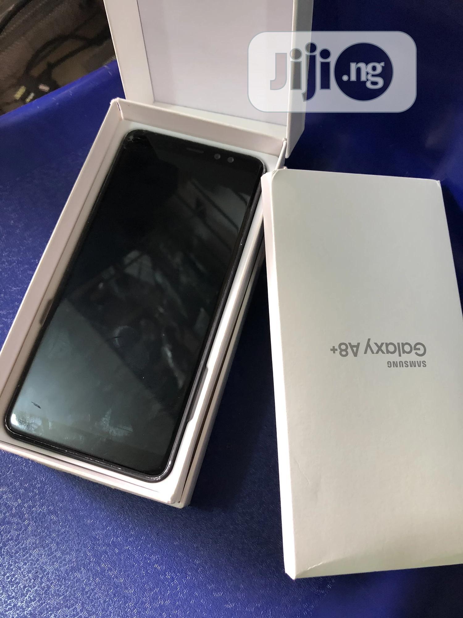 Samsung Galaxy A8 Plus 32 GB Black