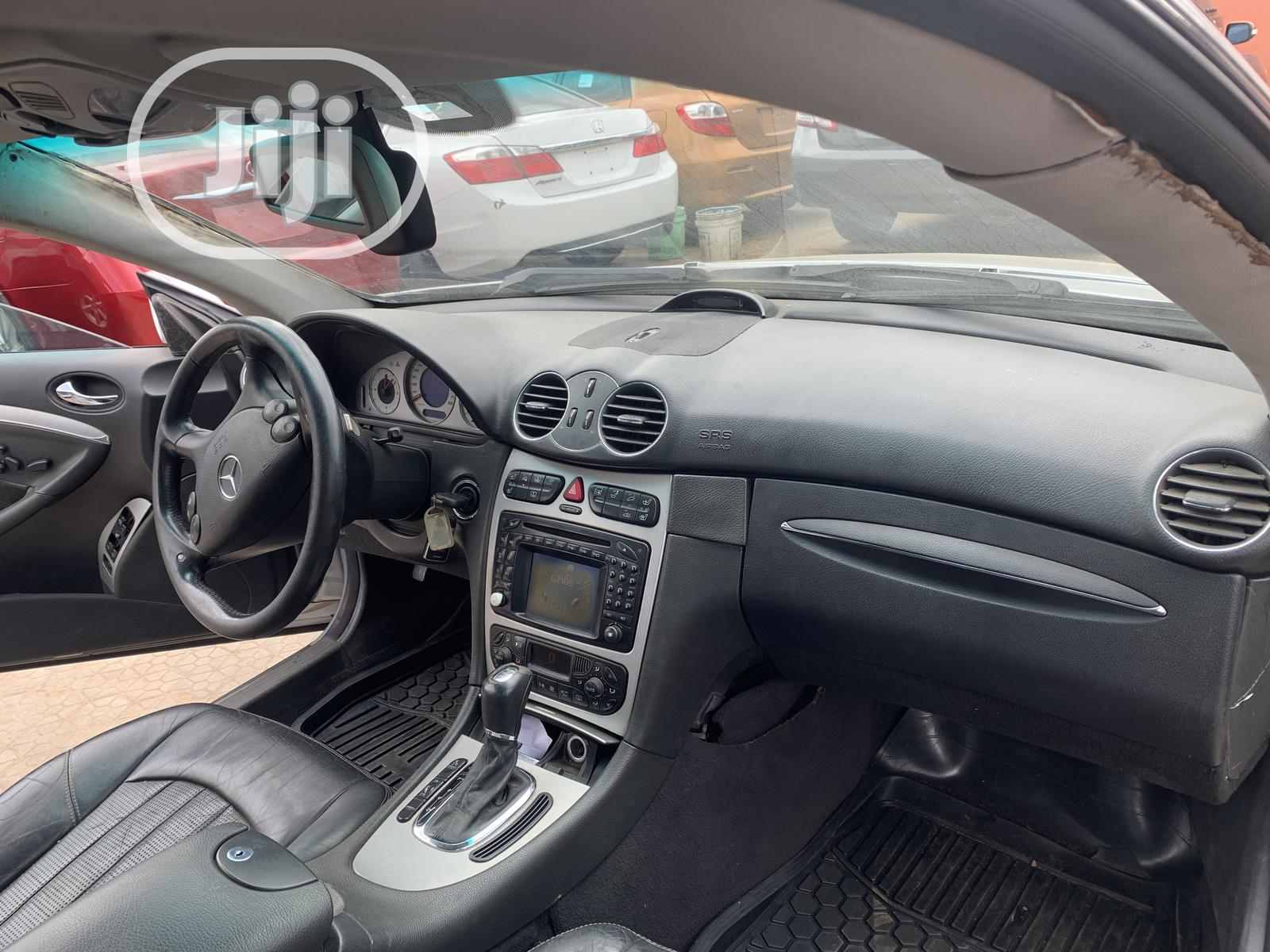 Mercedes-Benz CLK 2005 Silver | Cars for sale in Ikeja, Lagos State, Nigeria