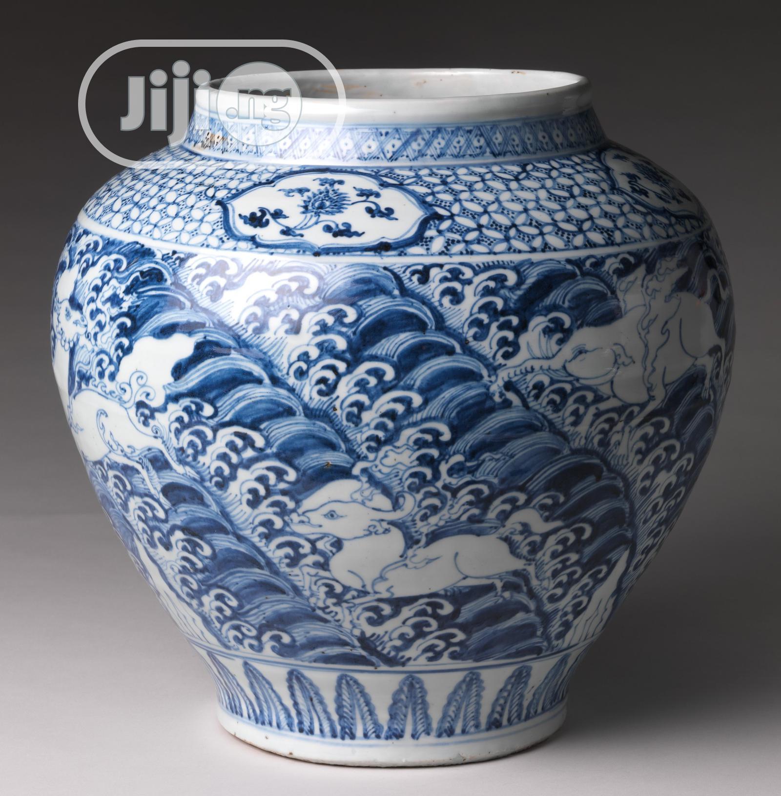 Ceramics Flower Vase
