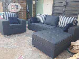 Modern Design L Shape With Single   Furniture for sale in Lagos State, Ilupeju
