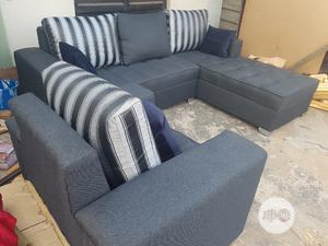 Modern Design L Shape With Single   Furniture for sale in Lagos State, Gbagada