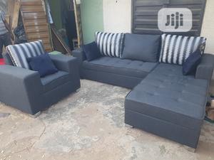 Modern Design L Shape With Single   Furniture for sale in Lagos State, Ikorodu