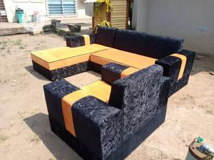 Modern Design L Shape With Single   Furniture for sale in Lagos State, Victoria Island