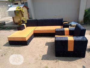 Modern Design L Shape With Single   Furniture for sale in Lagos State, Ajah