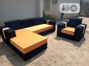 Modern Design L Shape With Single   Furniture for sale in Lagos State, Lekki