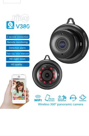 V380 Mini Wifi Spy IP Camera Wireless Security Night Vision | Security & Surveillance for sale in Lagos State, Ikeja
