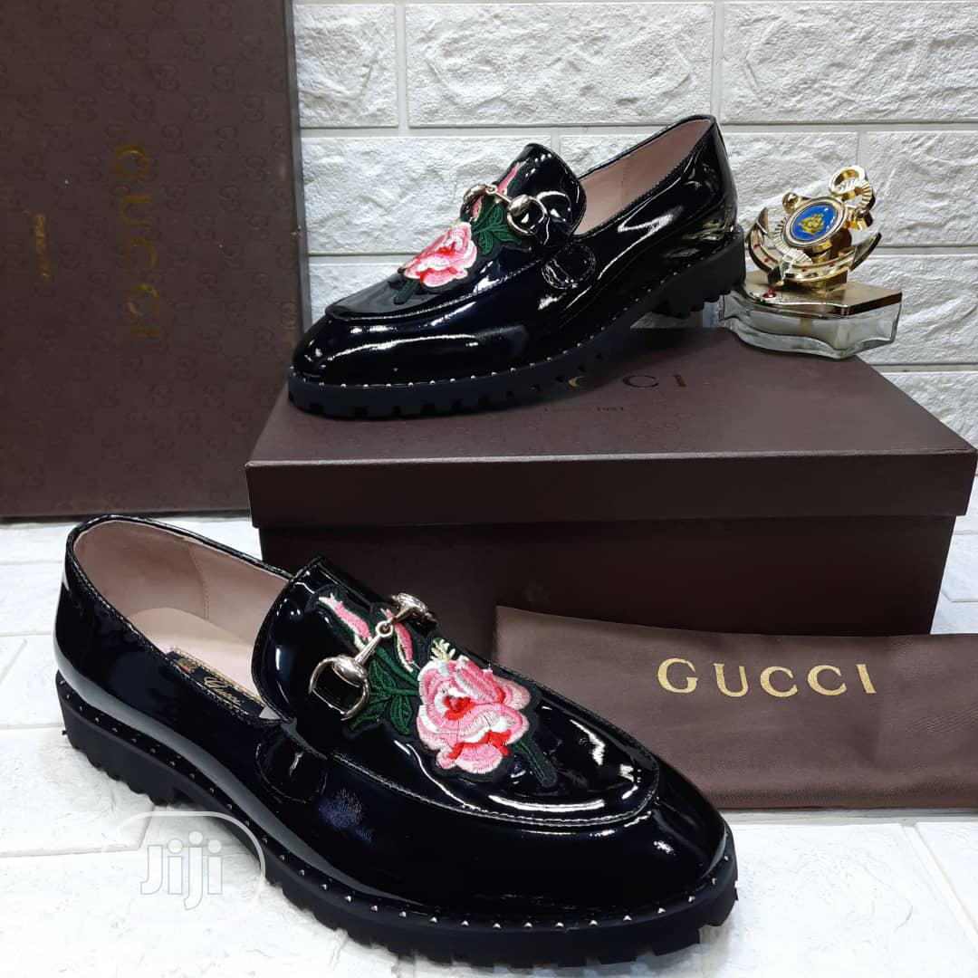 Gucci Patent Leather Shoe in Lekki