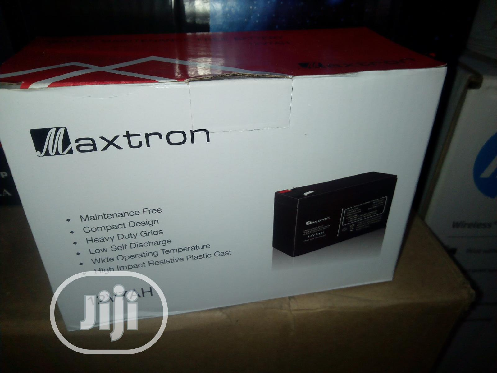 Maxtron UPS Battery 7ah/12V | Computer Hardware for sale in Ikeja, Lagos State, Nigeria