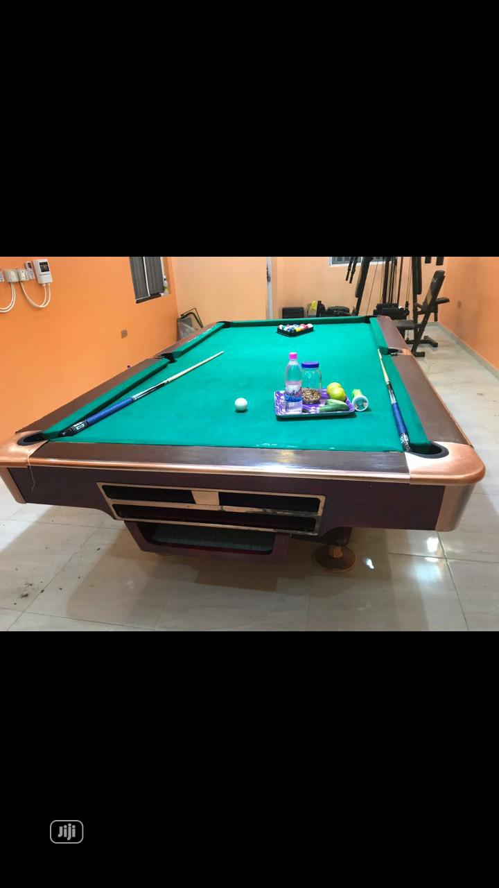 Archive: 8ft Snooker Table Available