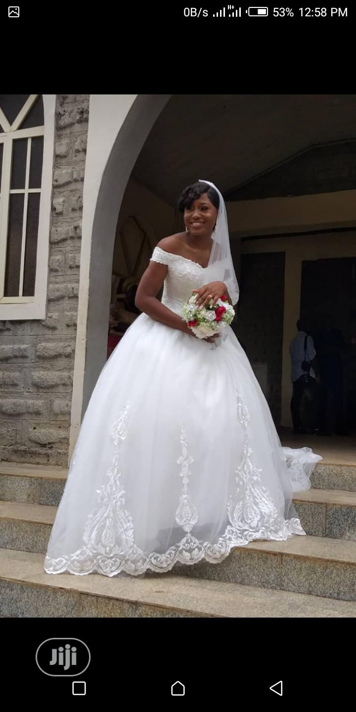 Archive: Wedding Gown/Tiara/Veil Available for Rent
