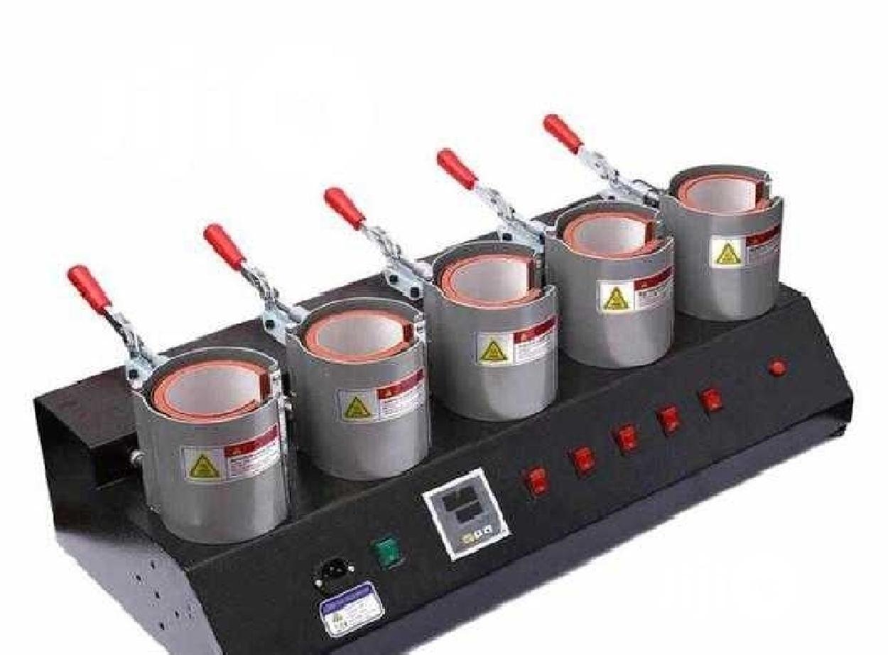 Great 5 In 1 Mug/Cup Heat Press Transfer Machine