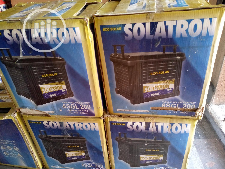 200ah 12V Solatron Gel Battery