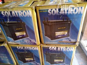 200ah 12V Solatron Gel Battery   Solar Energy for sale in Rivers State, Port-Harcourt