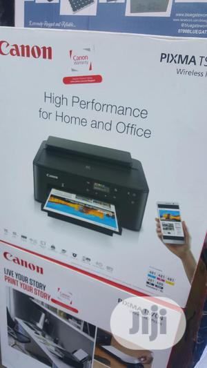 Canon PIXMA TS704 A4 Wi-fi Inkjet Printer W/Disc Printing | Printers & Scanners for sale in Lagos State, Ikeja