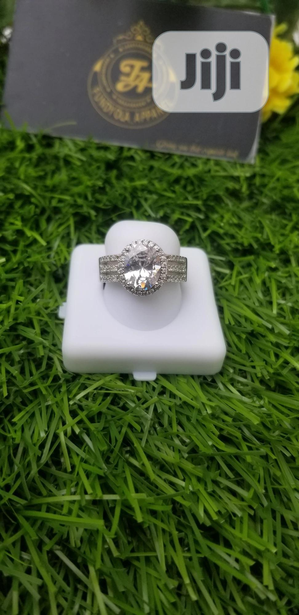 Pure Sterling Silver Engagement Ring | Wedding Wear & Accessories for sale in Ajah, Lagos State, Nigeria