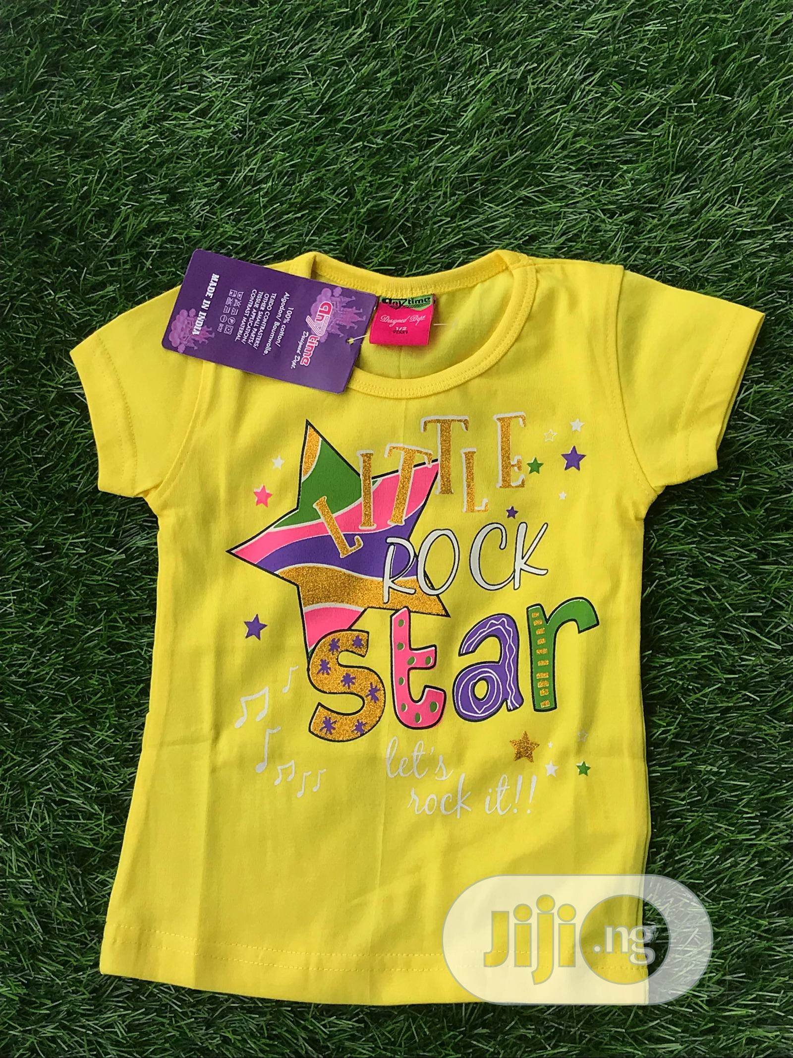 Archive: Yellow Polo Top for Kids