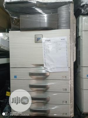 Sharp Mx 464n Multifunctional Black And White Printer | Printers & Scanners for sale in Lagos State, Surulere