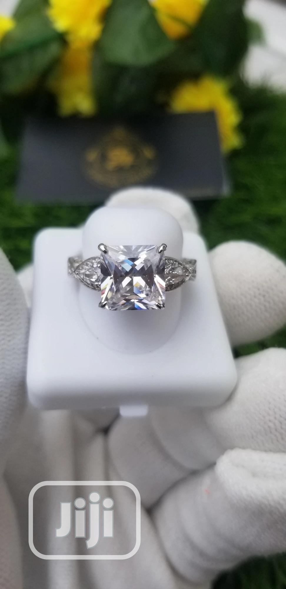 Fully Crafted Sterling Silver Engagement Ring | Wedding Wear & Accessories for sale in Ajah, Lagos State, Nigeria