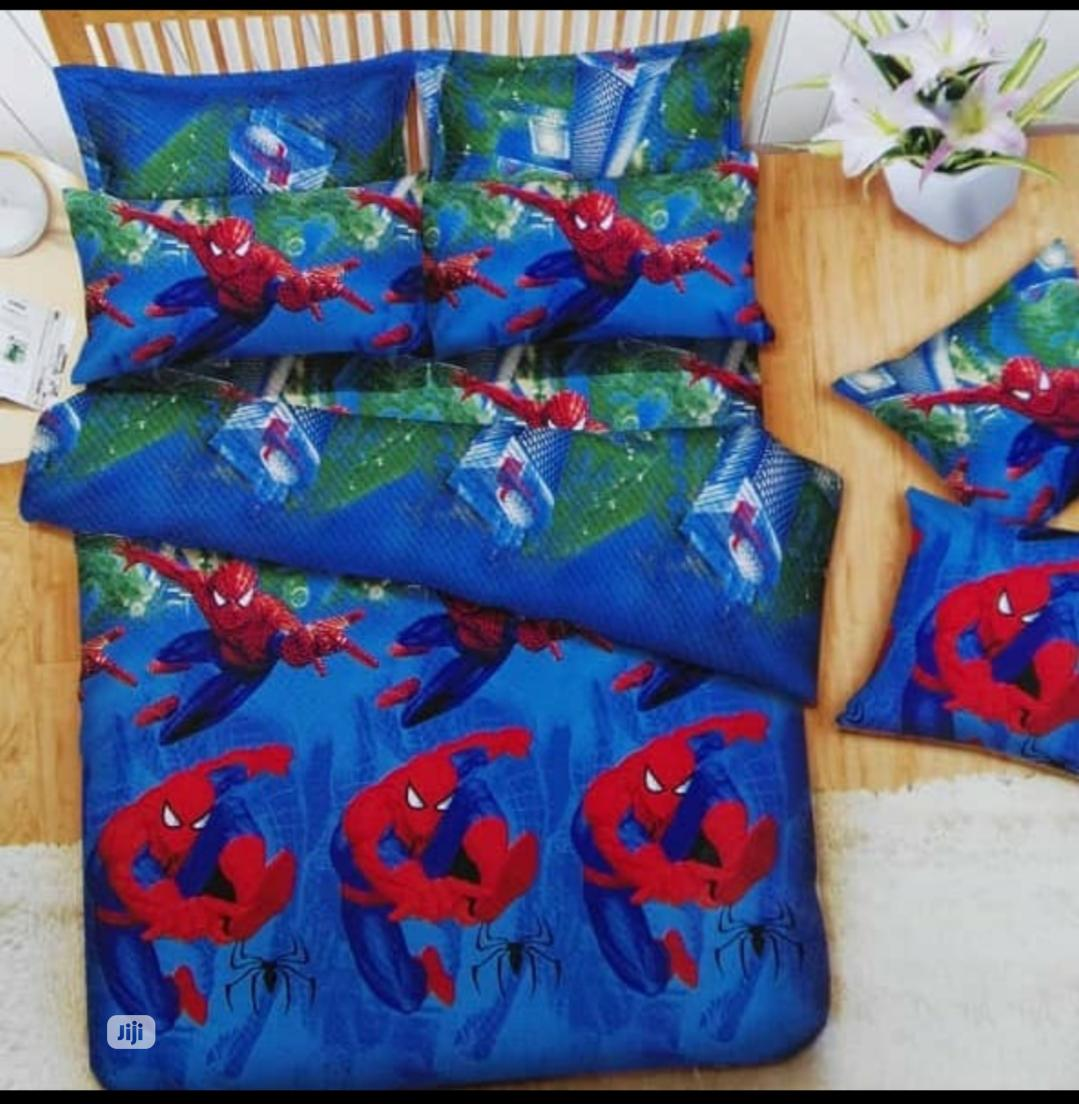 Spider Man Bedsheet 4*6 With 2 Pillowcase